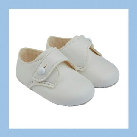 Baby Boys Ivory Baypod Pram Shoes